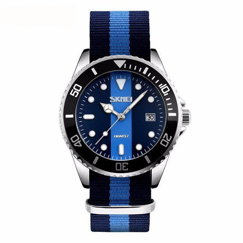 GLADIATOR BRITTON Casual Unisex Watch With Nylon Strap