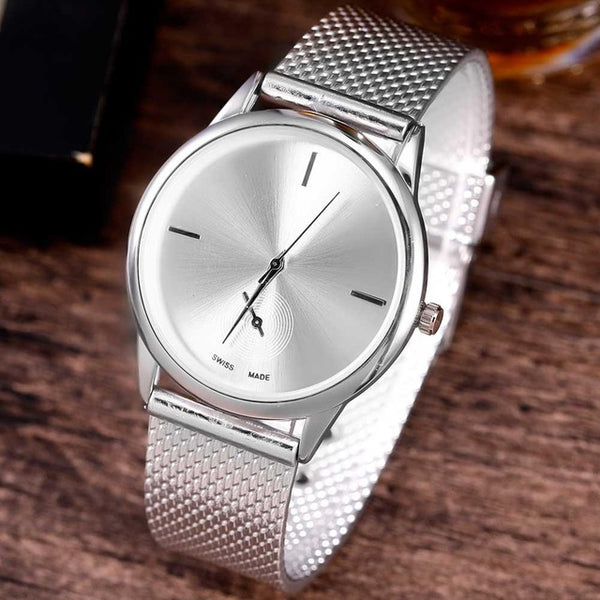 FREE GLADIATOR Belt Mesh Quartz Watch