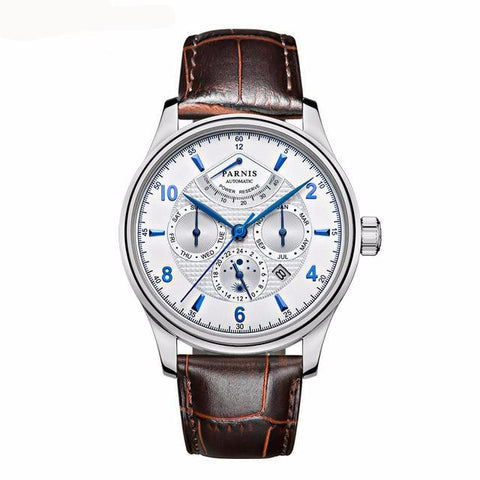 GLADIATOR WORLD TOUR Mechanical Watch With 26 Jewels And Moon Phase Dial