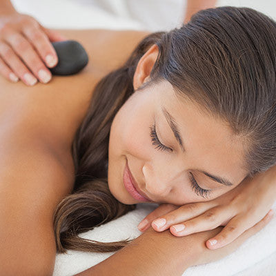 hot stone massage at montra spa surry hills