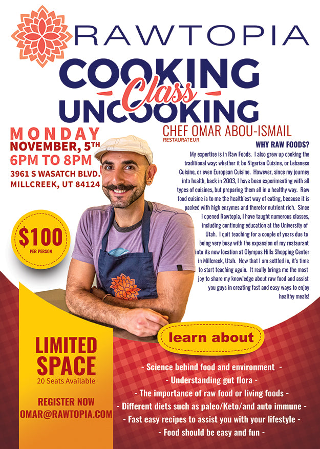 Cooking uncooking class