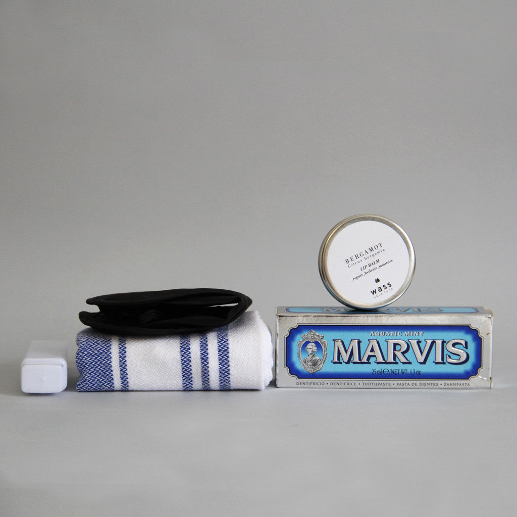 Collaboration Men Travel Lip Balm Hydrate & Repair Seasons Skin Food Natural Skincare Wass Studio