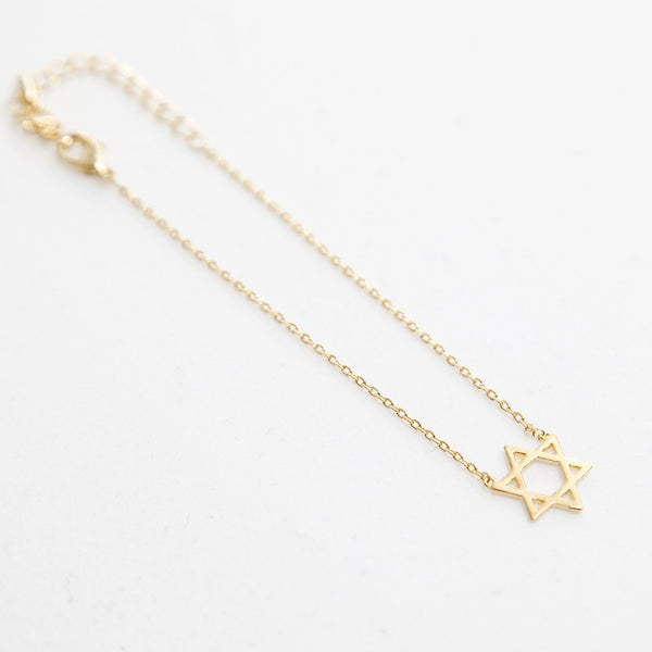 BE JEWELLED HEX STAR BRACELET-26