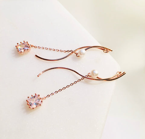 BE GEMMED  EARRING - G48