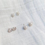 BE SILVER  EARRING - S23