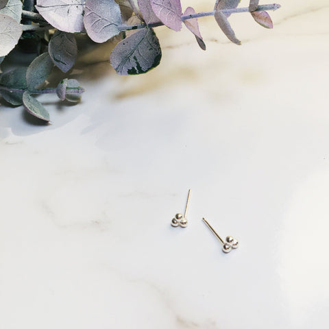 BE SILVER  EARRING - S12