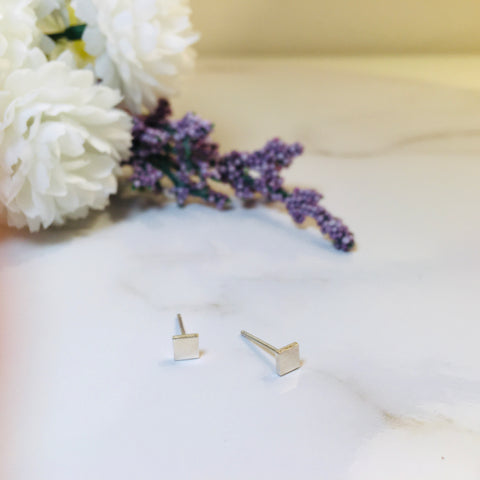BE SILVER  EARRING - S16