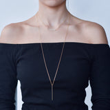 BE JEWELLED  BAR LAYERED  NECKLACE-39
