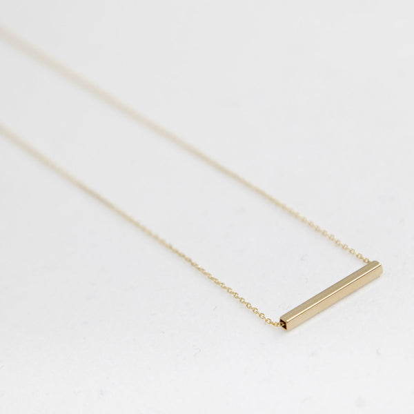 BE JEWELLED BAR NECKLACE-14