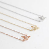 BE JEWELLED CRANE NECKLACE-29