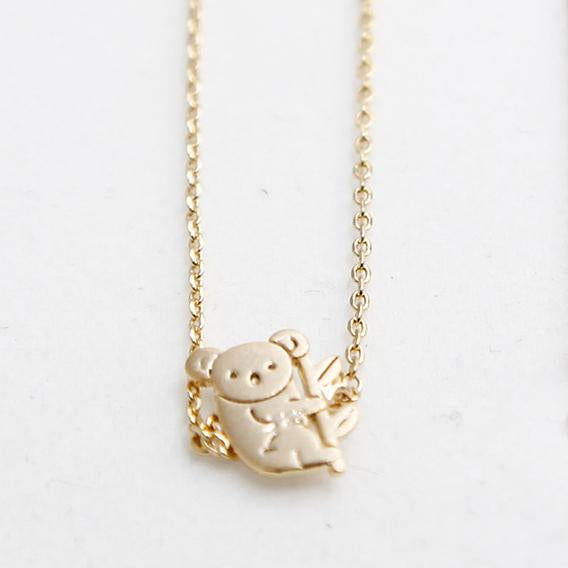 BE JEWELLED KOALA NECKLACE-01