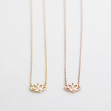 BE JEWELLED LOTUS NECKLACE-12