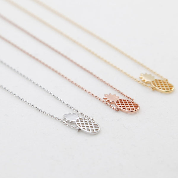 BE JEWELLED PINEAPPLE NECKLACE-17