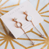 BE GEMMED EARRING - G108