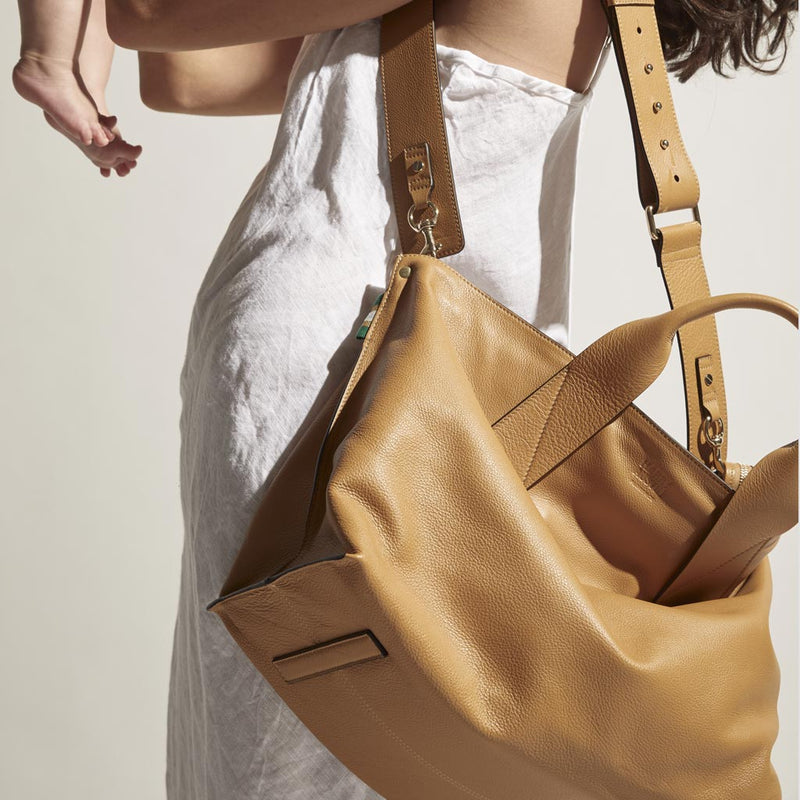 Handbag Revival | Florence Tote Tan