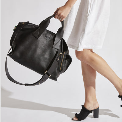 Handbag Revival | Florence Tote Black