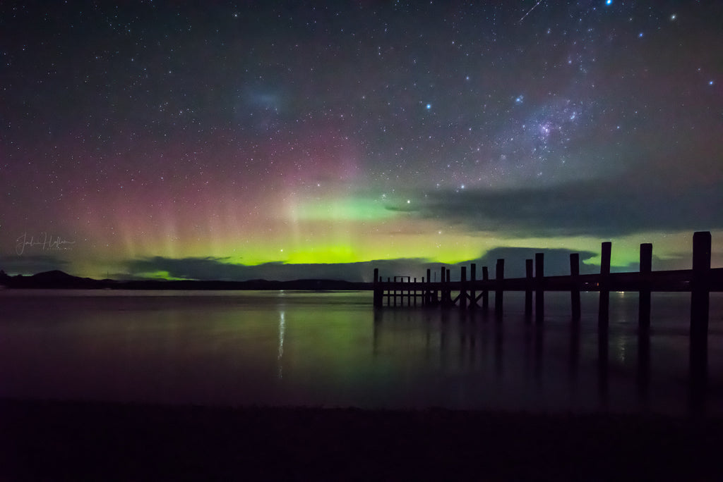 Aurora Australis Squeaking Point Tasmania 17 August 2017