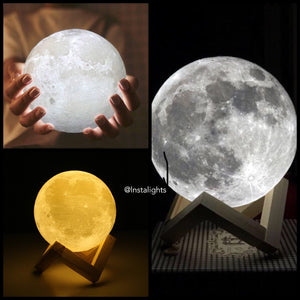 AllVirals 3D LED Moon Light