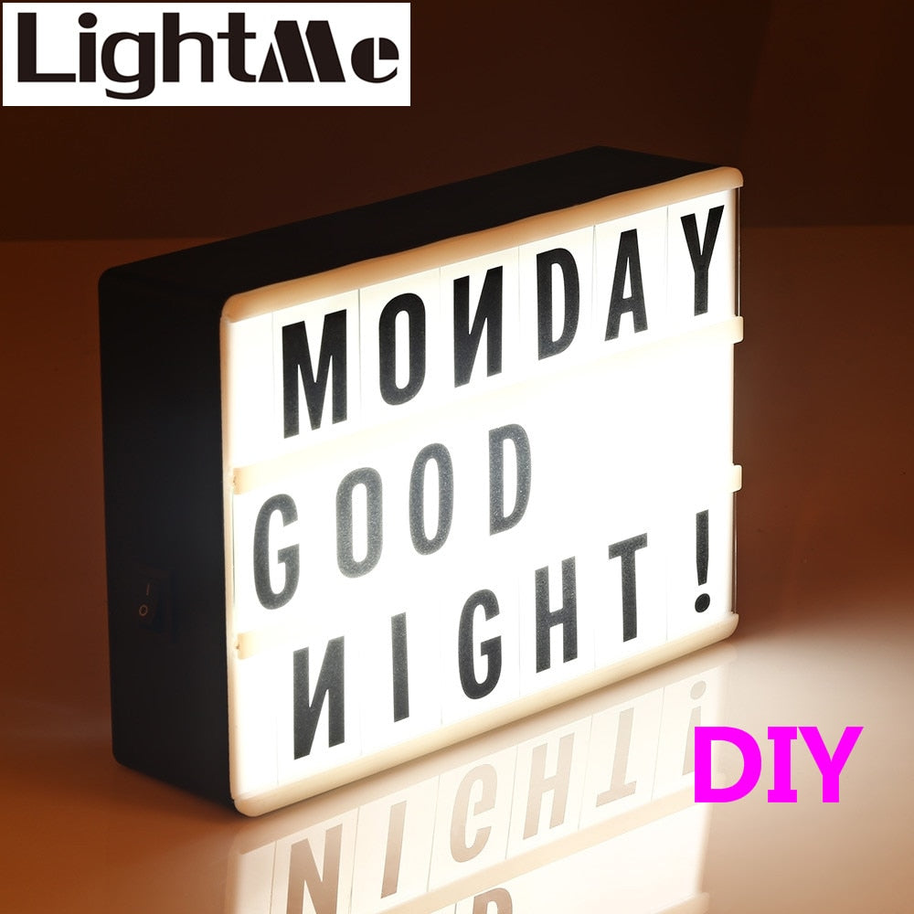 LED Combination Light Box Night Lamp