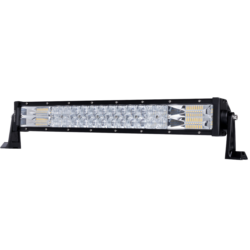 22inch Osram LED Light Bar Flood Spot Triple Row Cree Offroad Driving 4WD 4x4 V13-LBL-PDF22