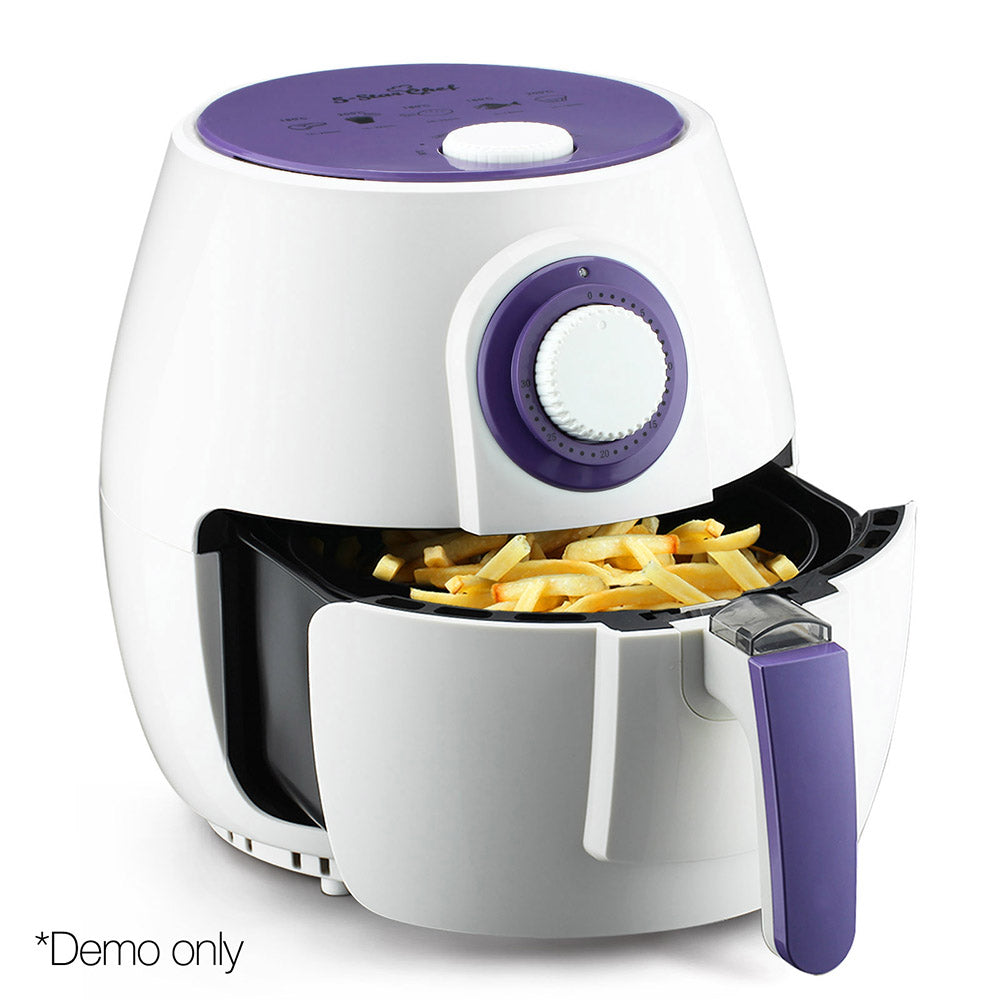2.6L 1300W Air Fryer White AF-K-HIC-024-WH