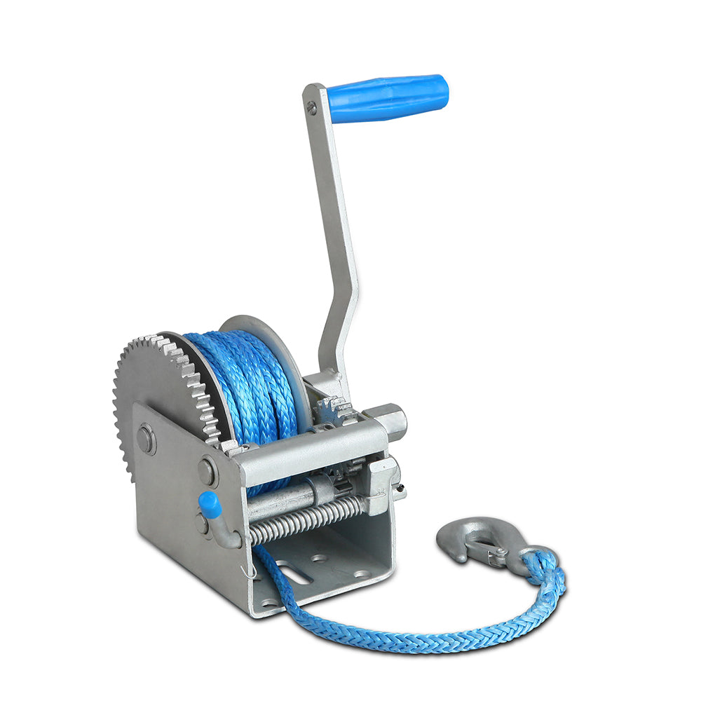 3 Speed Hand Winch Synthetic Rope CAR-WINCH-HAND2K