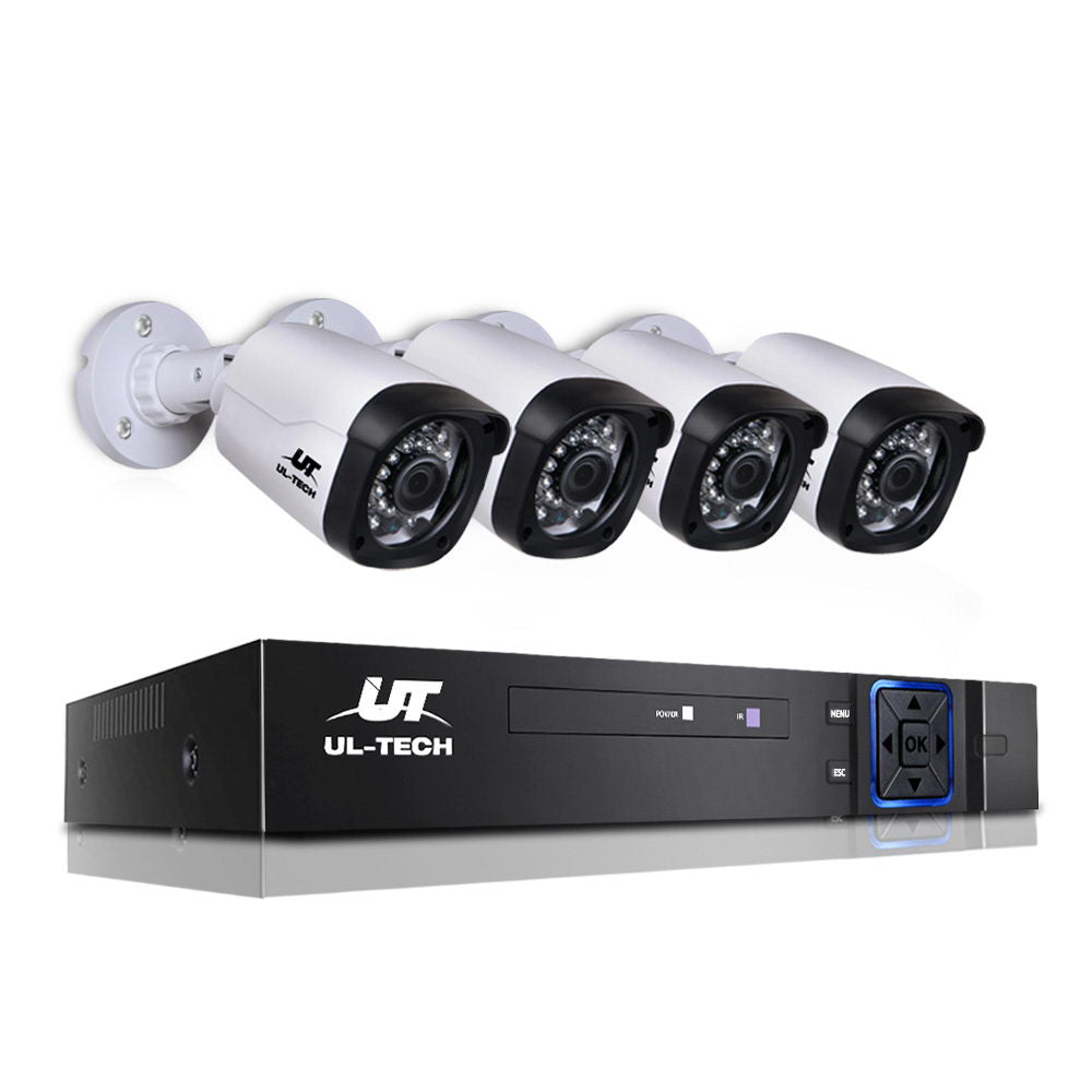 1080P Eight Channel HDMI CCTV Security Camera CCTV-8C-4B-BKWH