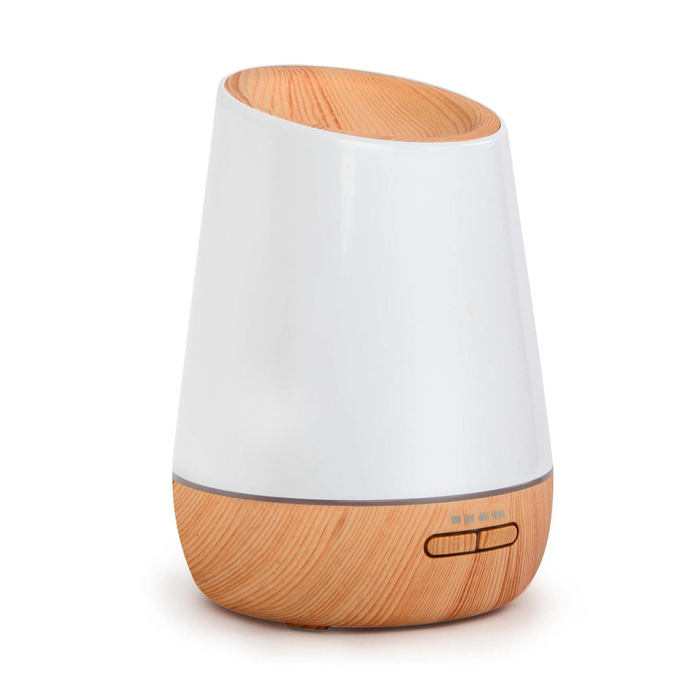 500ml 4 in 1 Ultrasonic Aroma Diffuser  - Light Wood DIFF-R5A-LW