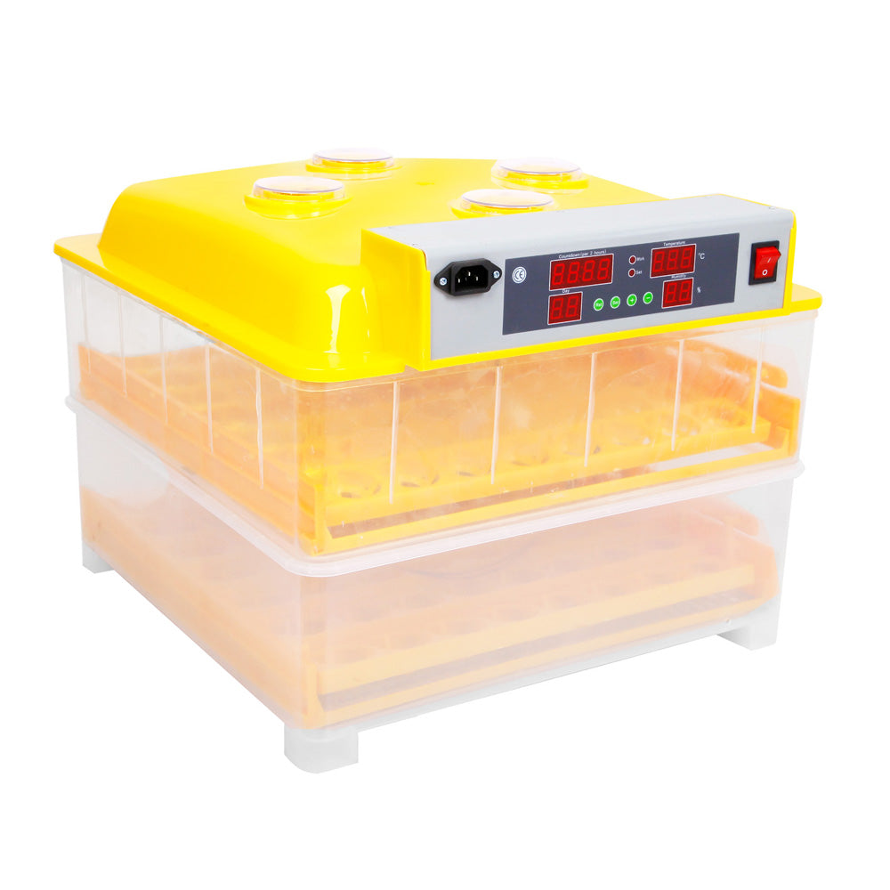 Automatic 96 Egg Incubator Yellow EGG-AUTO-96