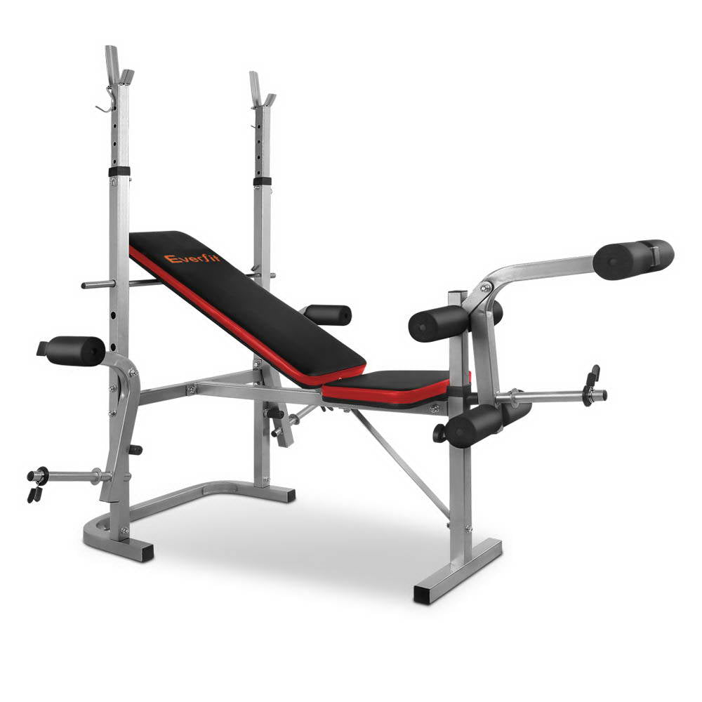 7-in-1 Weight Bench - Grey FIT-E-BENCH-80-GREY