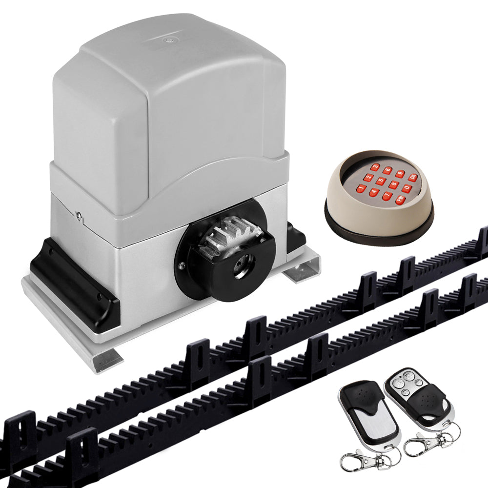 1200KG Sliding Electric Gate Opener Keypad+Remote Kit  GO-SGO-DSR1200-AC-172-RX3