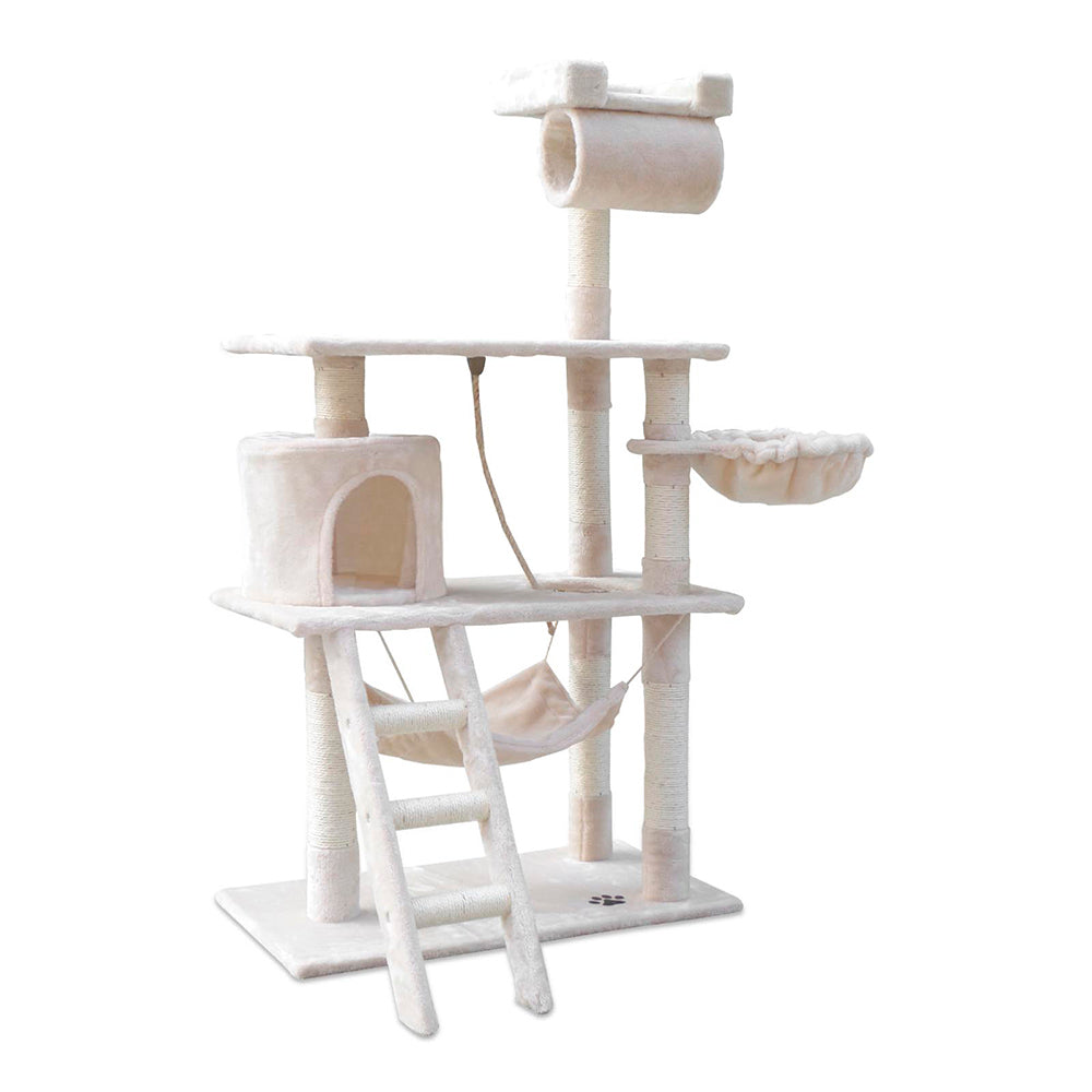 141cm Cat Scratching Tree Post - Beige PET-CAT-PCT63-BE for $85.99