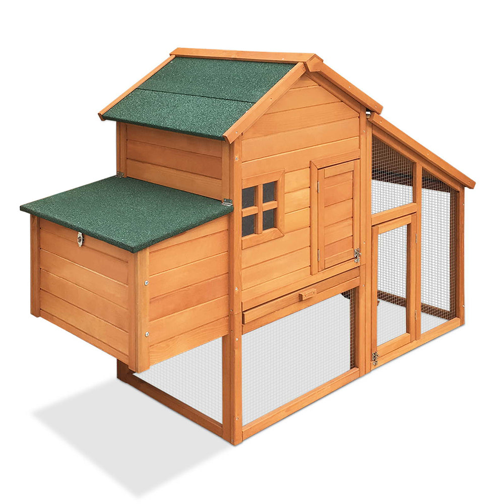 171cm Tall Wooden Chicken Coop PET-GT-WOOD-2020-AB