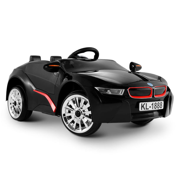 BMW i8 Style Electric Toy Car - Black RCAR-I8-BK