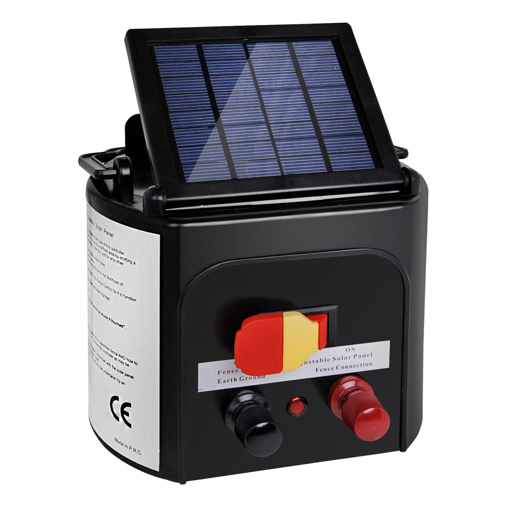 3km Solar Power Electric Fence Energiser Charger - $120.95