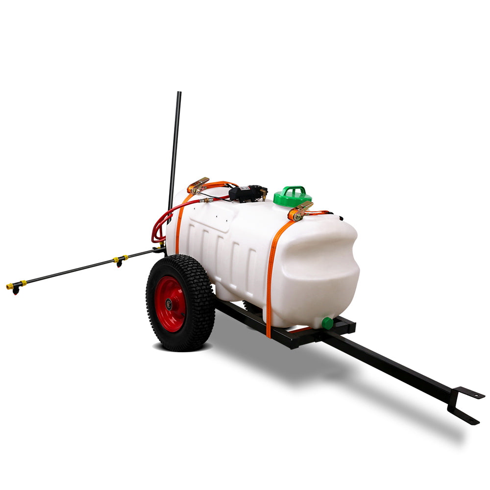 100L ATV Weed Sprayer Spot Spray Tank 1.5m Boom SPRAYER-100L-BOOM-1.5M-CART
