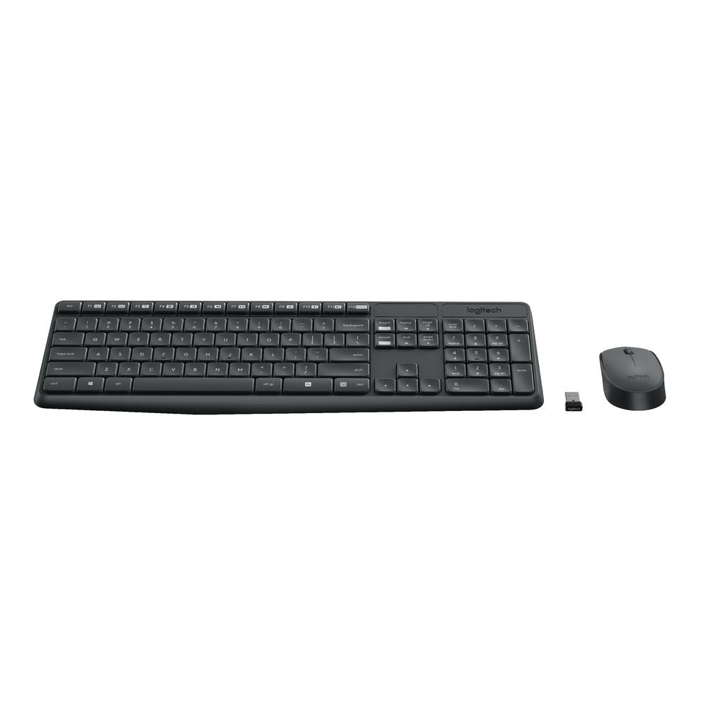920-007937: Logitech MK235 Wireless Keyboard Mouse V28-LOGCOMMK235