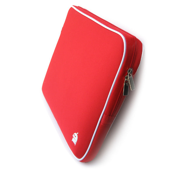 12 to 14 inch Laptop Bag Sleeve Case (red) V28-NBBLEM12INREDSL