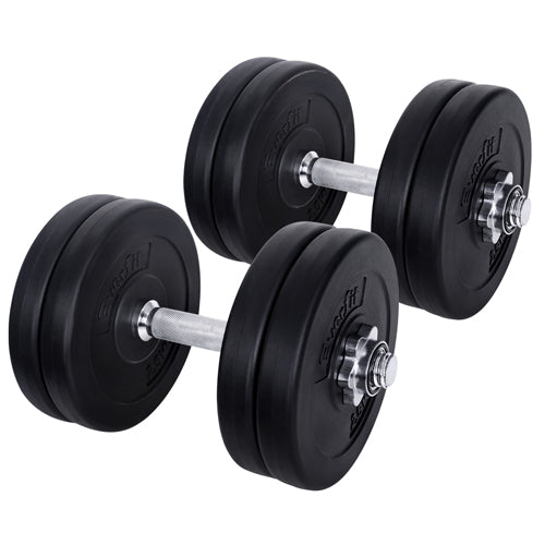 25kg Fitness Gym Exercise Dumbbell Set FIT-E-DB-SET-25KG
