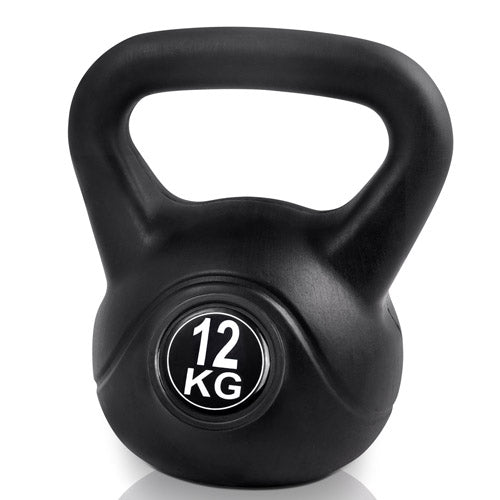 Kettlebells Fitness Exercise Kit 12kg FIT-E-KB-12KG-BLACK