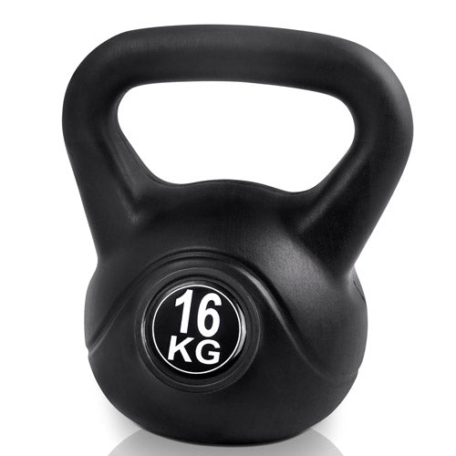 Kettlebells Fitness Exercise Kit 16kg FIT-E-KB-16KG-BLACK