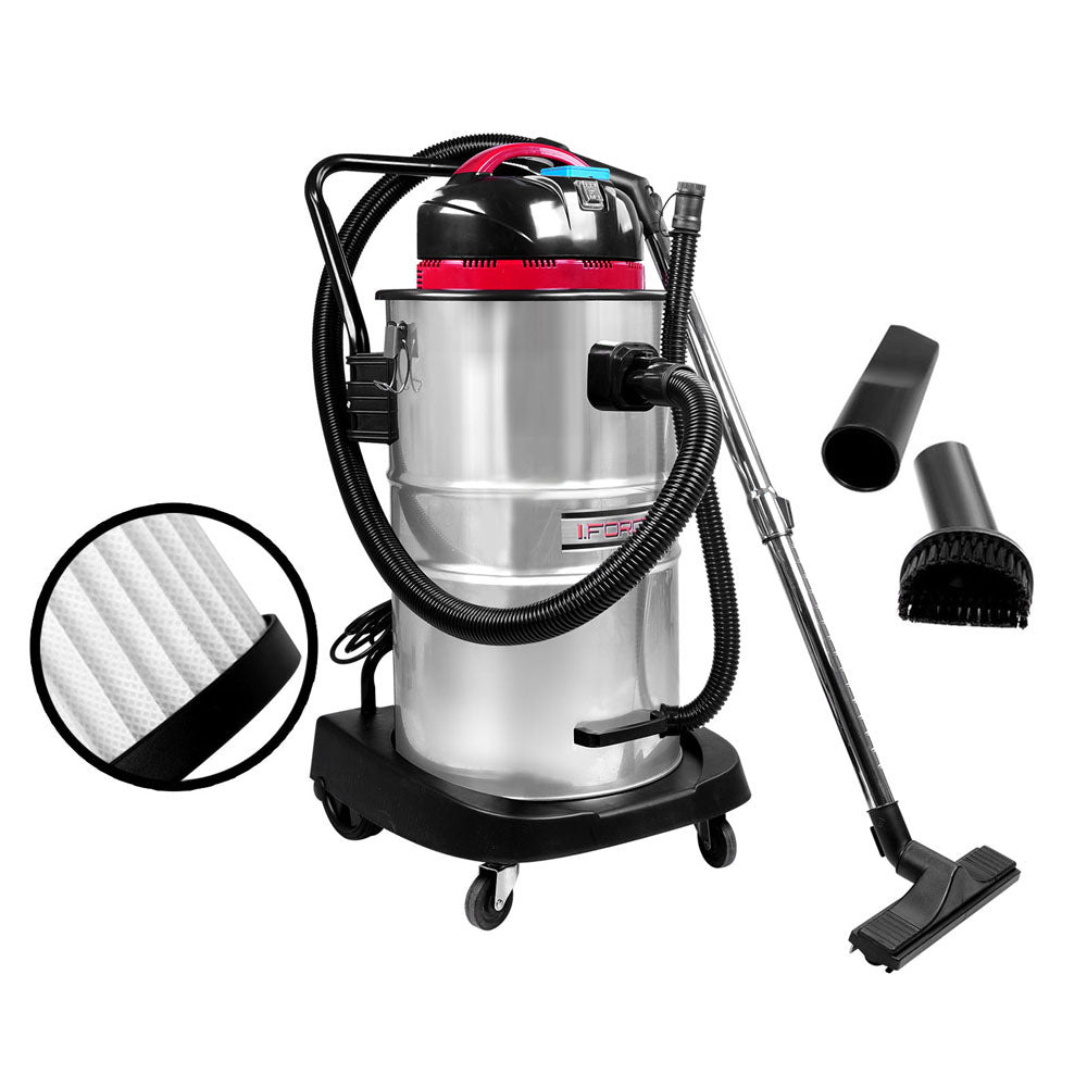 Industrial Commercial Bagless Dry Wet Vacuum Cleaner 60L