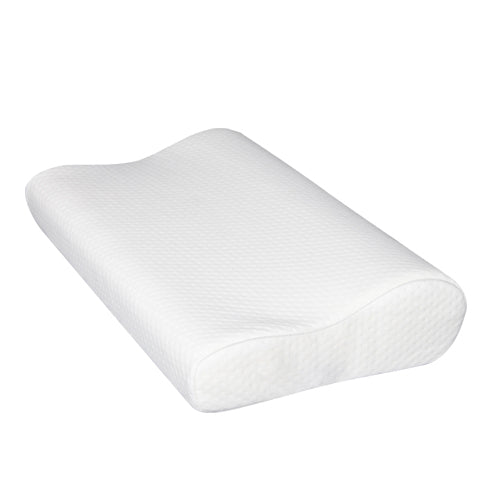 Set of 2 Visco Elastic Memory Foam Contour Pillows