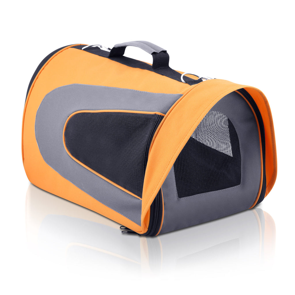 Pet Dog Cat Carrier Travel Bag Large Orange PET-AIR-CA-L-OR