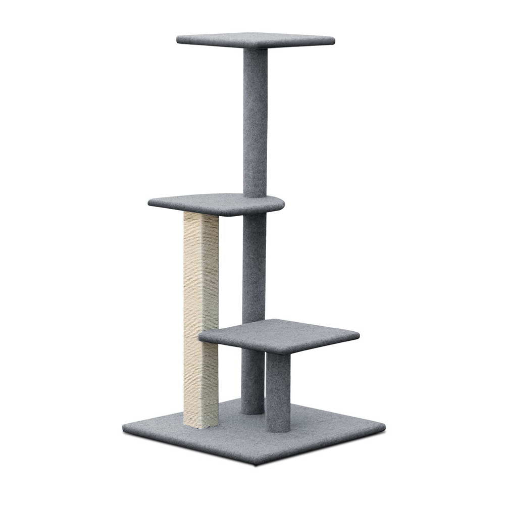 124cm Cat Scratching Post - Grey PET-CAT-CP001-GR