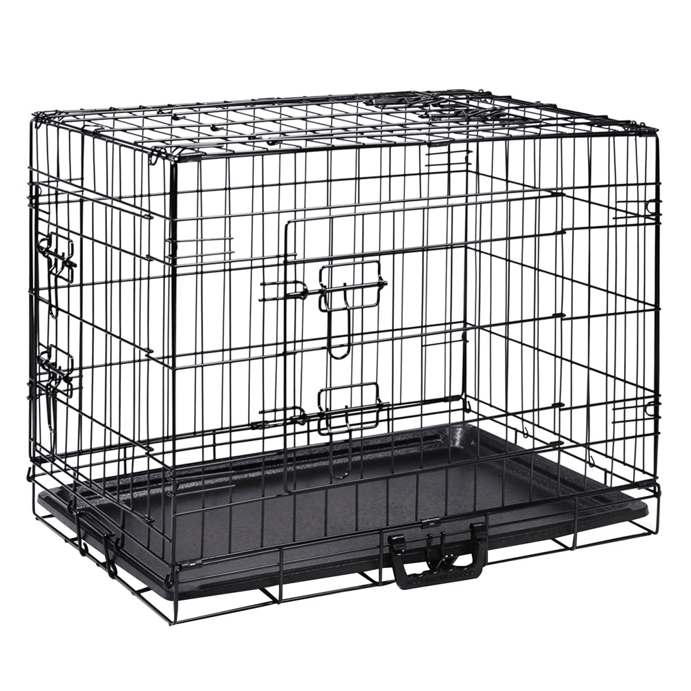 24inch Pet Cage - Black PET-DOGCAGE-24