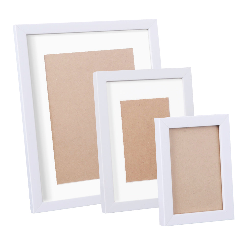 17 Piece Photo Gram Set - White PFS-17F-WH