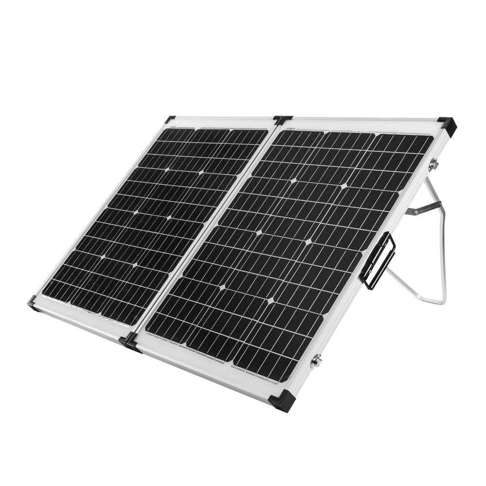 12V 160W Folding Solar Panel Kit Caravan Boat Camping Power Mono Charging Home V13-VASPFOLD-2F