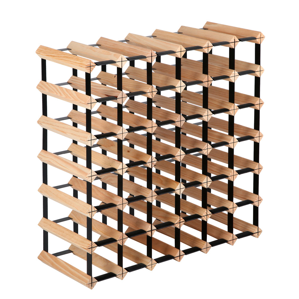 42 Bottle Timber Wine Rack  WINE-RACK-42B
