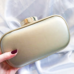 Smooth Gold Clutch